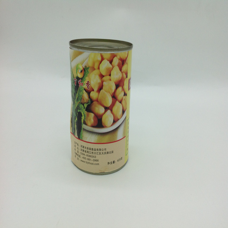 Vegetable Food Canned Food Factory Beans Chickpeas Healthy In A Can