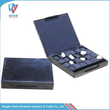 Plastic Grid Sponge Denture Veneers Box