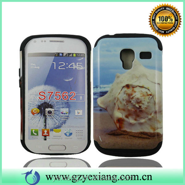 For Samsung Galaxy Tren Duos S7562 Case, Hard Back Cover For S7562
