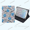 "New universal tablet case for android 8"" tablet with custom printing flowers for flip tablet covers& case"