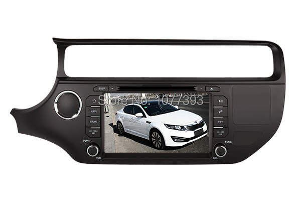 2015 Top DHL Free Shipping Professional Wince Car gps navigation For KIA Rio 2015 2016 With GPS Navigation BT Free Map
