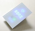 Tempered Glass Electronic Hotel Room Number Sign LED