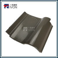Hot sell Spanish ceremic glazed roof tiles synthetic roofing sheets roof tiles prices