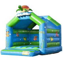 new design pvc cheap Turtle super inflatable commercial bouncy castles, inflatable jumping bouncing castle moonwalks for kids