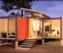 Chinese Prefabricated Steel Frame Structure Luxury Container House