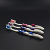 customized design new bulk family toothbrushes with tongue clean