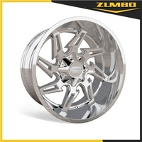 ZUMBO-A0094 OFFROAD Car Wheels alloy wheels rims Chrome alloy wheel for off-road vehicle 20-26 Inch Diameter