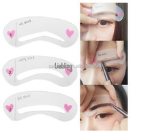 3 in 1 eyebrow stencil guide/Quick make up tool eyebrow guide/Eyebrow stencil for women