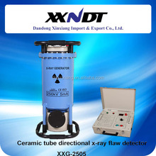 Ceramic tube directional portable x ray flaw detector XXG-2505