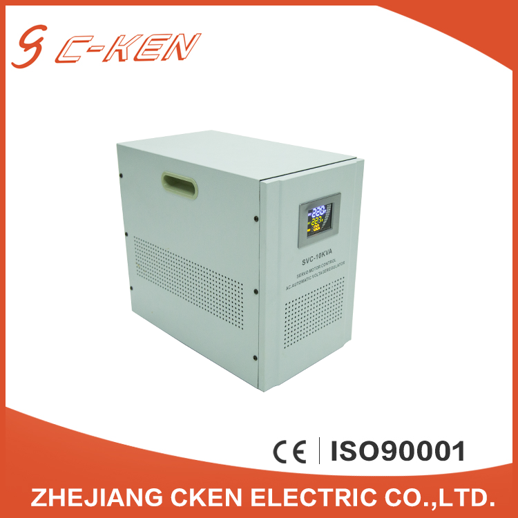 Cken High Accuracy 10KVA 20KVA Single Phase Automatic Generator Voltage Stabilizer