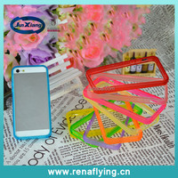 2014 silicon gel cell phone case bumper for iphone5