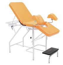 High Quality adjustable Iron portable gynecological exam table
