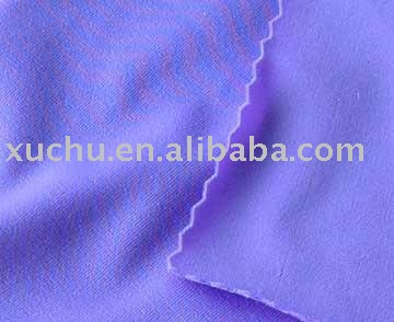 Polyester Cotton 35%Cotton 65%Polyester Plain Dyed French Terry Kintted Fabic