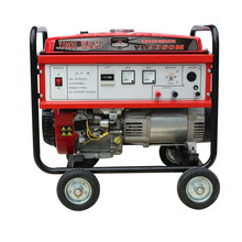 OHV aic cooled manual start AC single phase gasoline generators 3000w