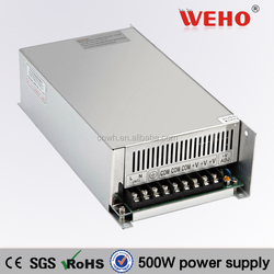 2015 NEW!!! constant current 500w Single output power supply 36v led driver