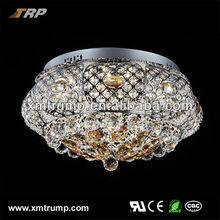 Decorative modern crystal ceiling fancy lights for home