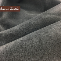 polyester suede bonded faux fur fabrics/ suede fabric by the yard
