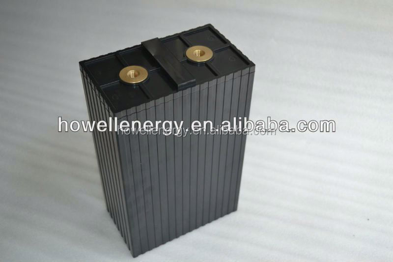 High capacity prismatic rechargeable lithium lifepo4 battery 3.2V 200Ah for EV / Storage / solar power system