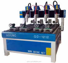 3d cnc router machine QD-1212-4 wood carving machine