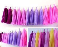 Ownerparty Wholesale High Quality Tissue Paper Tassel for Party Decoration