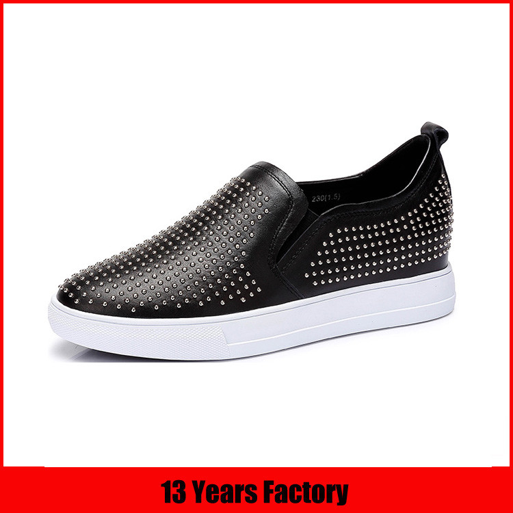 women leather daily wear shoes