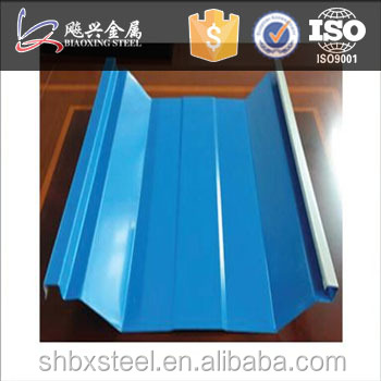 Building Materials Beautiful UShape Colorful Roofing Sheet