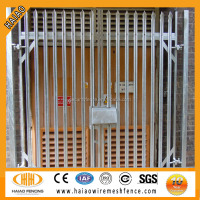 Galvanized & polyester palisade aluminium fence and gates ( strong style )