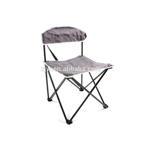Fashionable outdoor portable kids folding fishing chair with rod holder