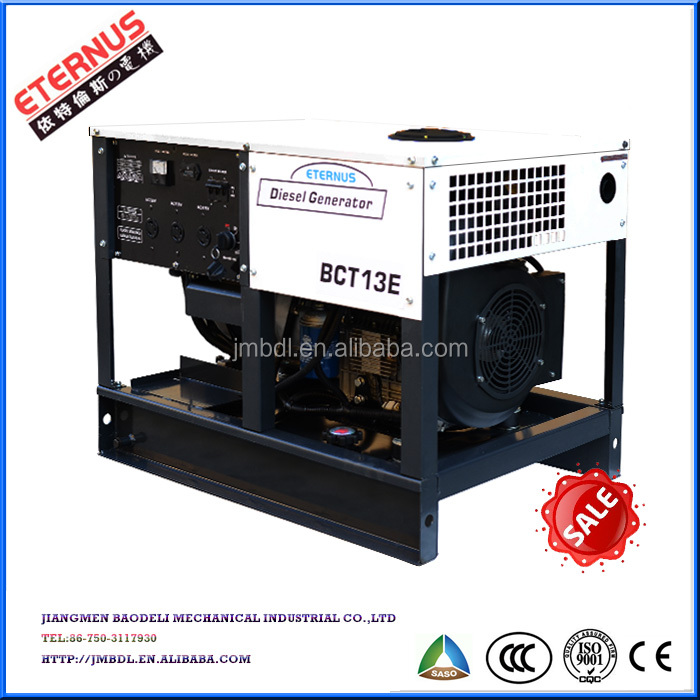 12KW Three phase Air-cooled Diesel Generator BDT12E