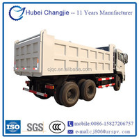 340hp 15tons 6x4 dump truck/tipper truck prices dongfeng dalishen