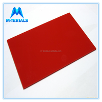 Mterials 0.8mm - 100mm Colored ABS Polymer Sheet
