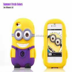 Most popular cartoon defend for iphone 6 plus mobile phone / good hand feel mobile housing for iphone 6 plus silicon case