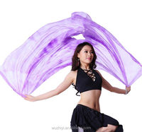 2014 Wuchieal Belly Dance Veils Made of Diamond Hemp