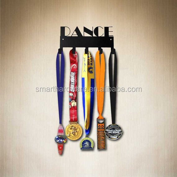 Soccer Metal medal display hook Medal hanger Sport hook