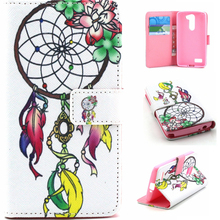 Color Printing Wallet Leather Case Flip Case For LG L Bello