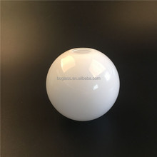 10cm frosted opal white glass globe/glass ball lamp shade