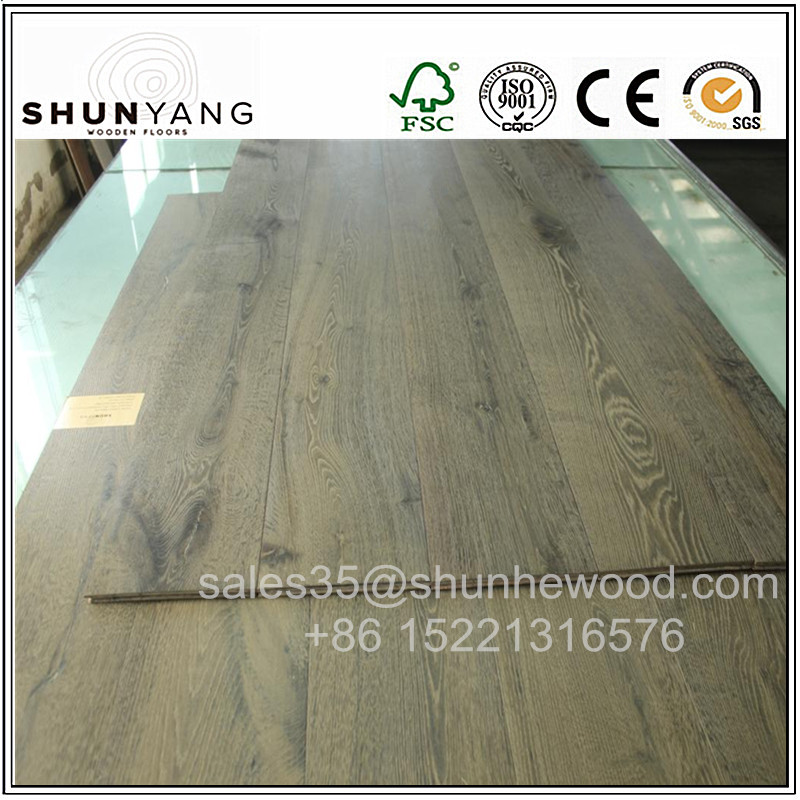 12mm,14mm,15mm,18mm Antique /Vintage parquet Oak Hardwood Flooring