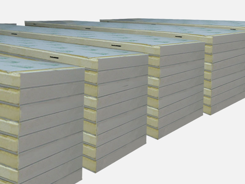 china supplier Cheap roofing materials exterior decorative metal wall panel pu sandwich panel