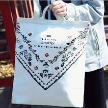 High quality standard size women canvas tote bag