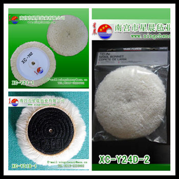 wool polishing pad, wool buffing pad