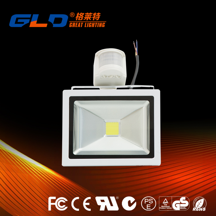 Low Price pir sensor led flood light with good quality
