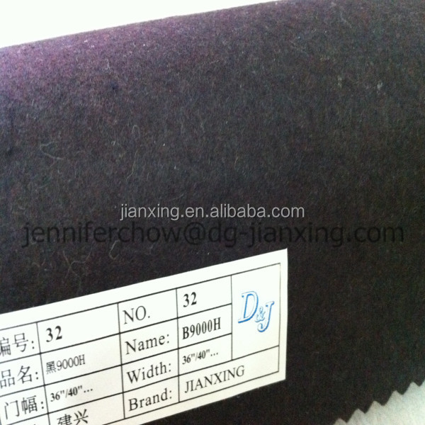 Tearaway polyester interlining embroidery backing