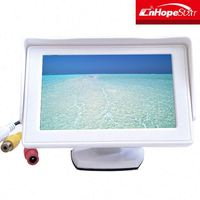 Digital Screen 4.3 inch lcd cctv test monitor tft lcd monitor with 2av input