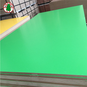 factory wholesale 2 to 25mm mdf sheet melamine faced mdf