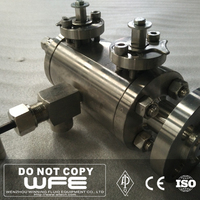 WFE API A105 SS 304 316 Soft Seat 150lb Flange Lever Floating Ball Valve