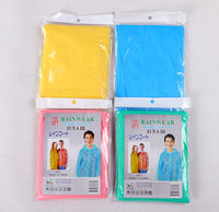 Promotional waterproof high quality cheap disposable rain poncho 2014 new