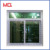 Pvc sliding window double glass window pvc window in philippines