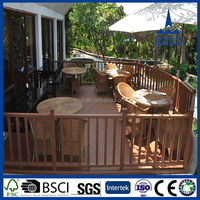 Plastic wooden garden furniture, outdoor teak garden furniture