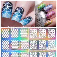ibelieve hot selling nail art 3d nail sticker for salon