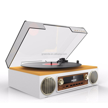 multiple old record players, Portable recordable turntable wholesale